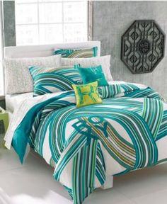 Roxy Bedding, Cami Duvet Cover Sets - Teen Bedding - Bed & Bath ...