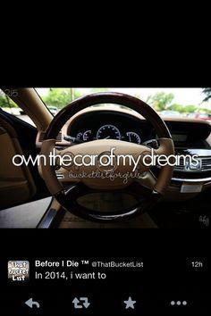 Before I Die - Own the car of my dreams