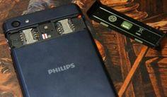 Philips W6618 Smartphone con batería alta capacidad y precio económico
