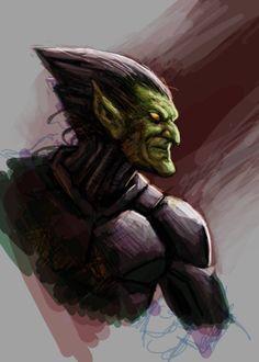 Green Goblin by Felipe Massafera *