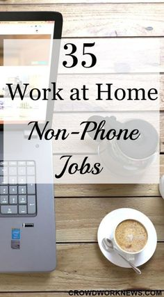 Looking for work at home jobs which don't require a phone? Check this massive list of jobs which don't involve phone usage.