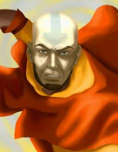 Avatar Aang all grown up