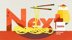 TASTE— Food Channel for FOX International Channels on Behance