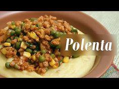 Como fazer Polenta com molho Bolonhesa Vegano