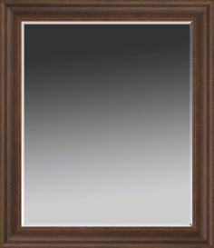 Wood Tone Traditional Wall Mirror