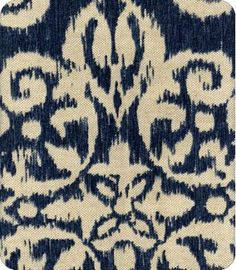 Love Navy Ikat