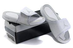 ace16567d99624 NvByjrt Nike Air Jordan Hydro Premier White Slide Sandals