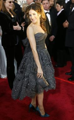 Pin for Later: The 64 Most Glamorous Gowns to Ever Hit the Golden Globes  Sarah Jessica Parker in 2004.