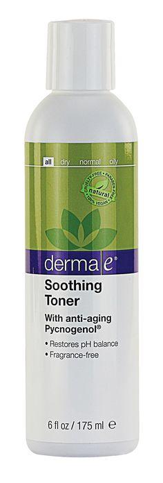 derma e Soothing Toner with Pycnogenol®