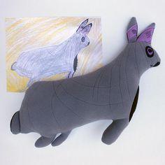 c5e22a2e7d40 Custom plush made from children's art - Custom gift - Keepsake softie - Custom  stuffed animal for birthday - rag custom doll - MADE TO ORDER