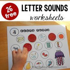 letter sounds worksheets fb