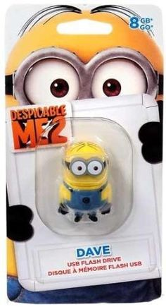 EP Memory Despicable Me 2 Minions 8GB Dave USB Flash Drive (DM2-DAVE/8GB)