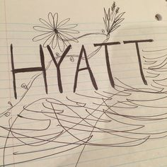 A masterpiece by @kellyleighjac on Instagram. We say doodle all you want! | Hyatt Hotels & Resorts