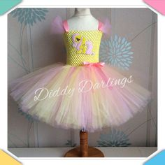 Hey, I found this really awesome Etsy listing at https://www.etsy.com/no-en/listing/228610971/fluttershy-tutu-dress-inspired-handmade