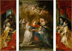 The Ildefonso Altarpiece is a triptych dating to between 1630 and 1631.It is named after the central panel, it shows saint Ildefonsus's vision of the Virgin Mary, in which she gave him a 'casula'. On the side panels are Isabella Clara Eugenia and Albert VII, regents of the Spanish Netherlands, with their patron saints Albert and Elisabeth of Hungary. Albert  founded the Ildefonso Brotherhood in the church of Saint Jacques-sur-Coudenberg in  Brussels, to encourage loyalty to the Habsburg…