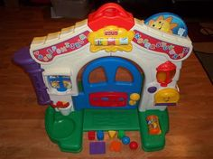 Fisher-Price Laugh and Learn Learning Home is full of fun and great ways for your baby to laugh and learn