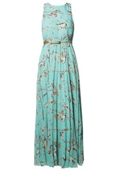 ELECTRA BLOOM - Fotsid kjole - grønn