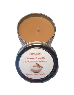 4 oz Pumpkin Caramel Latte, Coffee Decor, Hand Poured Soy Candle, Scented Candle, Fall Candle, Pumpkin Candle, Foodie Gift, Novelty by GourmetCandle on Etsy https://www.etsy.com/listing/203547607/4-oz-pumpkin-caramel-latte-coffee-decor