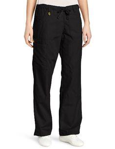 WonderWink Women's Scrubs  Cargo Pant, Black, Medium - http://best-women-shop.xyz/2016/06/21/wonderwink-womens-scrubs-cargo-pant-black-medium/