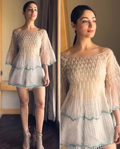 Yami Gautam in an outfit from Not So Serious by Pallavi Mohan for the promotions of KaabilPicture: Instagram