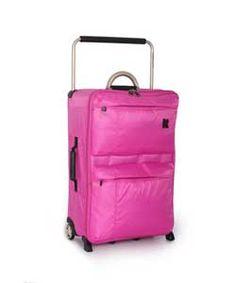 Buy IT World's Lightest Medium 2 Wheel Suitcase - Pink at Argos.co.uk, visit Argos.co.uk to shop online for Suitcases
