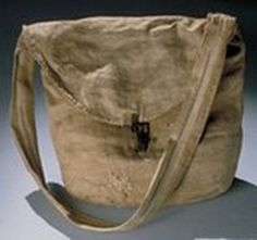This is a typical haversack carried by both sides during the Civil War