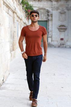Like a tourist in Syracuse    source: www.thethreef.com    #style #menswear #boy