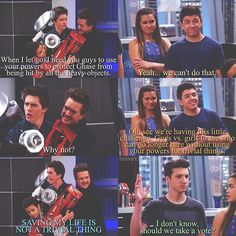 + Lab Rats: Elite Force S1E9 The Intruder ~ wing