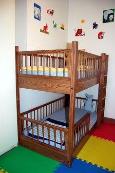 Small Kids Room Strategy Toddler Size Bunk Loft Beds