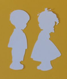 silhueta crianças Mais School Wall Decoration, Baby Gender, Silhouette Projects, Color Plus, Chiffon, Pottery, Baby Shower, Scrapbook, Diy