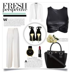 """""""#52"""" by hungry-earth ❤ liked on Polyvore featuring STELLA McCARTNEY, Larsson & Jennings, NARS Cosmetics, Topshop and Balmain"""