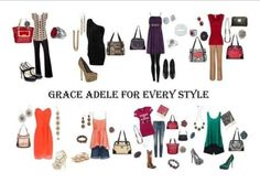 Grace Adele for Every Style  www.bagsandstuff.graceadele.ca