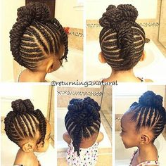 5 Interested Cool Tips: Women Hairstyles For Round Faces Over 40 asymmetrical hairstyles pixie.Pixie Hairstyles Back View hairlook hairstyles. Lil Girl Hairstyles, Natural Hairstyles For Kids, Kids Braided Hairstyles, My Hairstyle, African Hairstyles, Fringe Hairstyles, Black Hairstyles, Beehive Hairstyle, Pixie Hairstyles