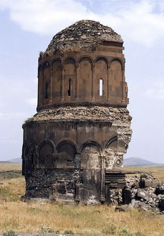 Church of the Holy Redeemer, Armenian Kingdom of Ani, Turkey. Makes me sad :(