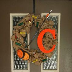 Hunting wreath