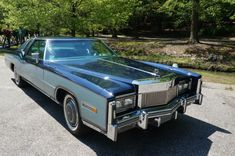 1977 Cadillac Eldorado, the only year it didn't come in both coupe and convertible.
