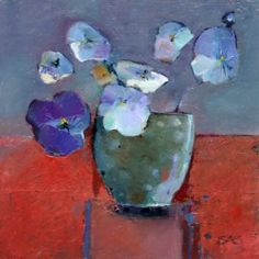 ❀ Blooming Brushwork ❀ - garden and still life flower paintings - sarah simpson