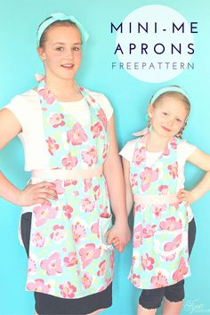 Matching aprons for