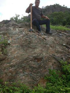 Blue Tiffany quarry site