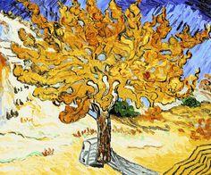 Van Gogh - The Mulberry Tree - overstockArt.com