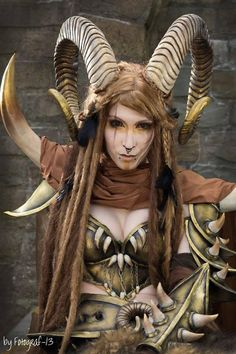 Faun cosplay by Lightening   Cosplay