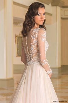 Justin Alexander Fall 2016 Wedding Dresses #bridal #wedding #weddingdress…