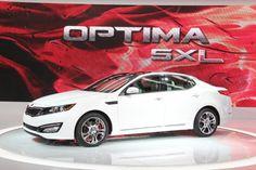 2012 Kia Optima SX Limited - 2012 Chicago Auto Show