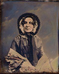 English Matriarch, Tinted  Circa 1849