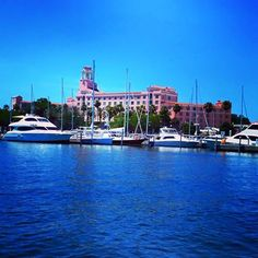 The Vinoy Hotel, downtown St Pete, Fl  from boat!