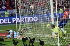 Chile Campeon de la Copa America ante Argentina perdió en los penales