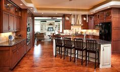 Traditional Birch Kitchen - Mullet Cabinet