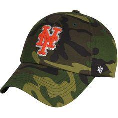 New York Mets '47 Women's Rosita Clean Up Adjustable Hat - Camo