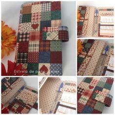 Carteira porta cheque/notas e cartões  http://artesanatoestreladepano.blogspot.com