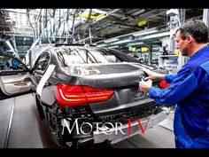 CAR FACTORY :  NEW 2017 BMW 7 SERIES PRODUCTION l Plant Dingolfing - YouTube